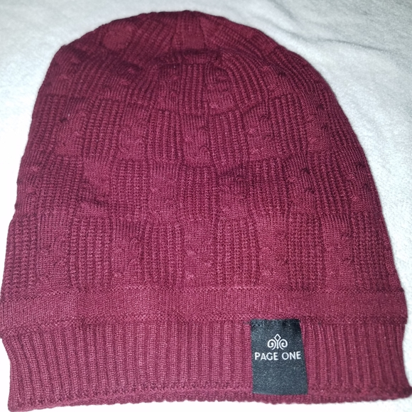 Other - NIP mens page one winter cap/beanie